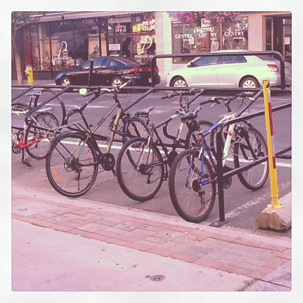 Bikes at the Olde Stone