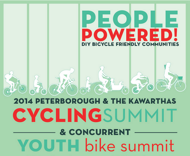 Peterborough Bike Summit 2014 graphic