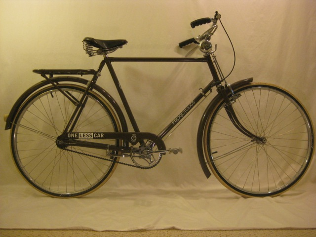 1973 Raleigh Tourist Bicycle Restored by Frog Cycles