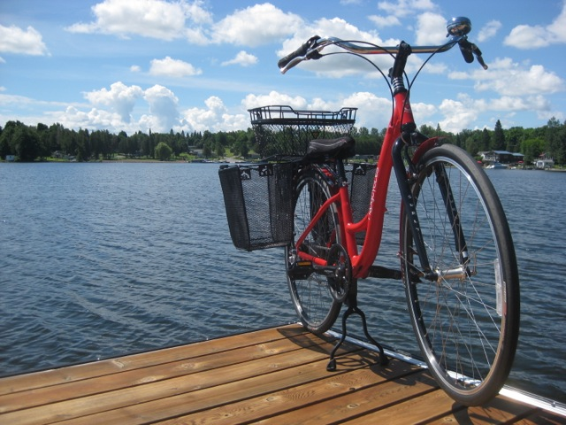 "image of Trek 7300 Grocery Getter"" bicycle"