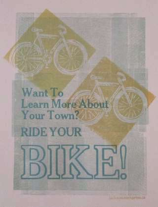 image of Ride Your Bike Poster
