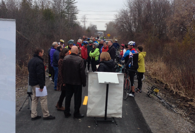Official Opening of the City Trail Connection to the Lang-Hastings Trail