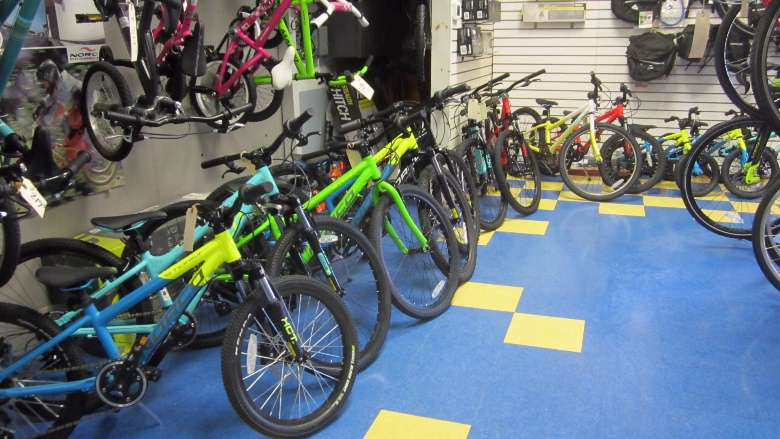 A Range of Youth and Kids Bikes