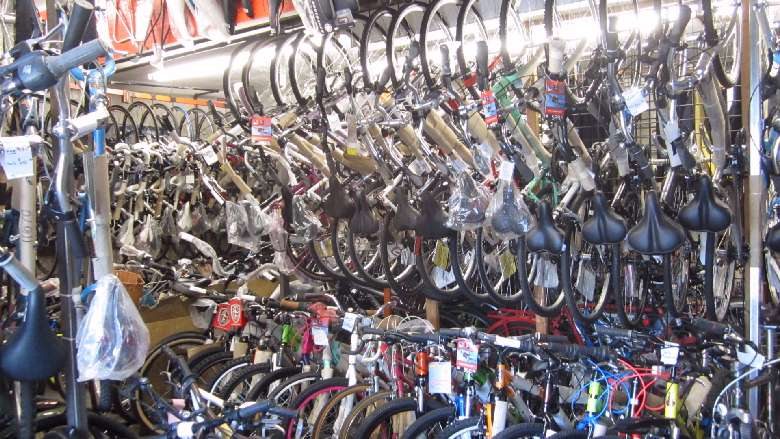 A Wide Range of Bikes at Spokes 'N' Pedals