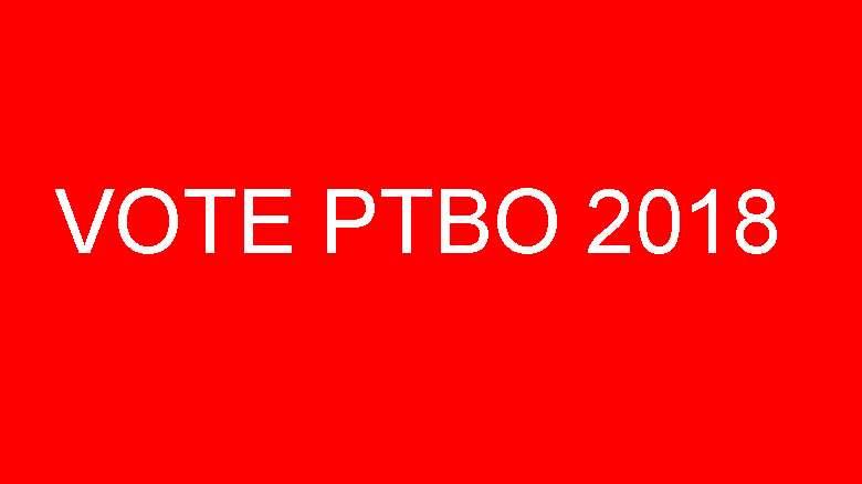 Vote PTBO 2018